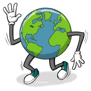 Earth Day 5K logo